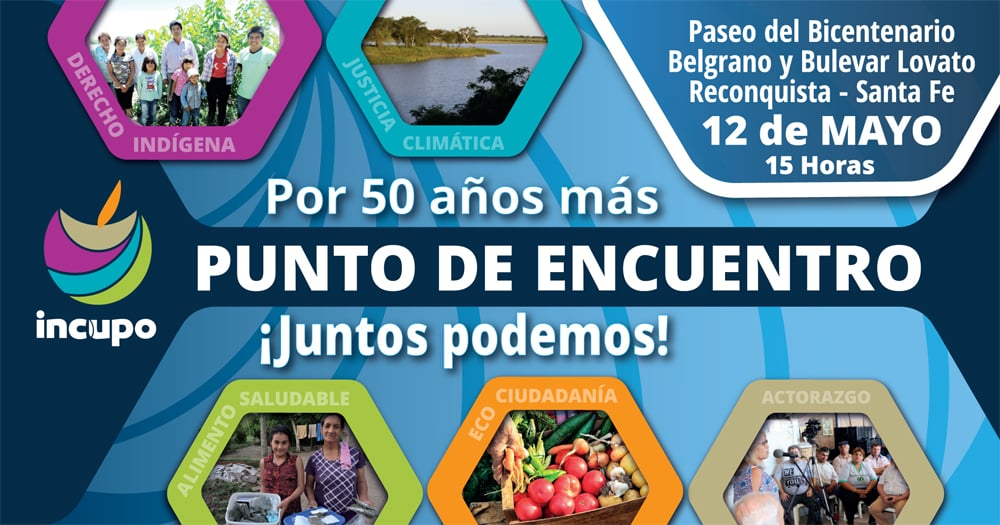Agroecología, artesanos y música junto a INCUPO en Reconquista