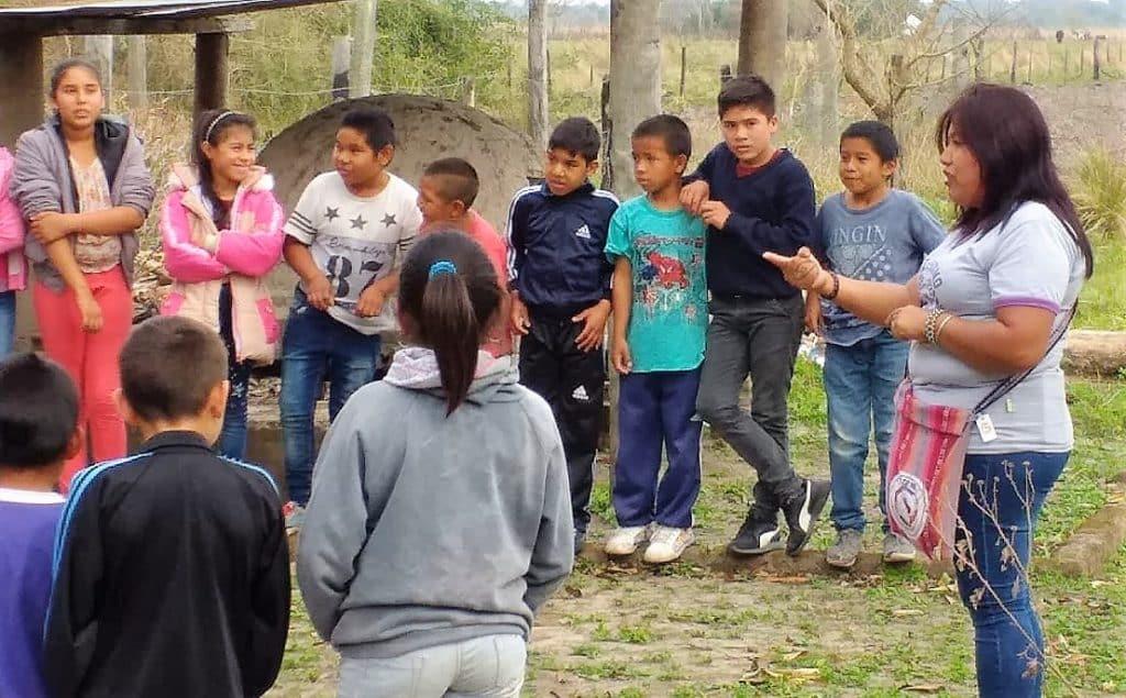 Experiencia forestal educativa en Laguna Patos, Chaco: «Sin monte no hay vida»