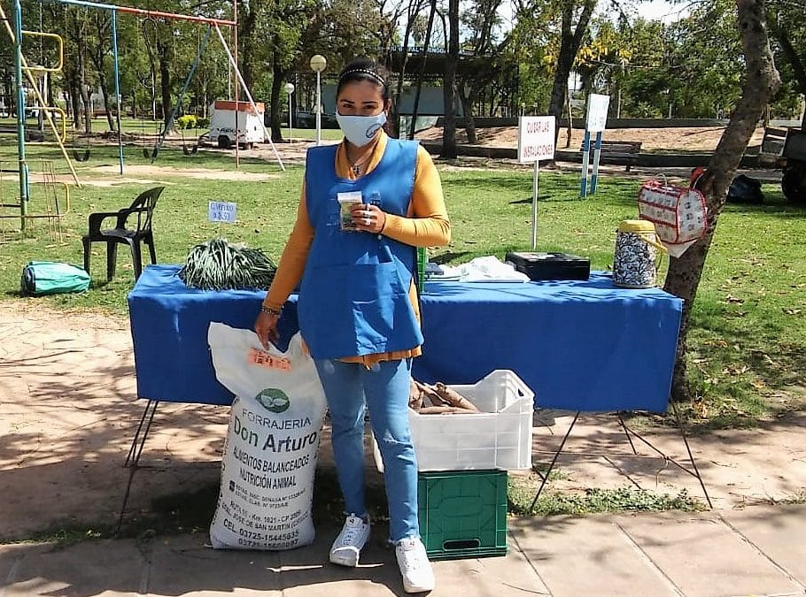 Familias campesinas recibieron apoyo para recuperar chacras afectadas por la sequía