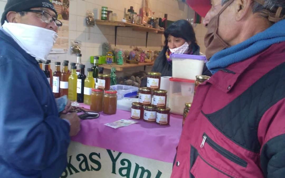 Kuskas Yamkayku, alimentos sanos en Añatuya