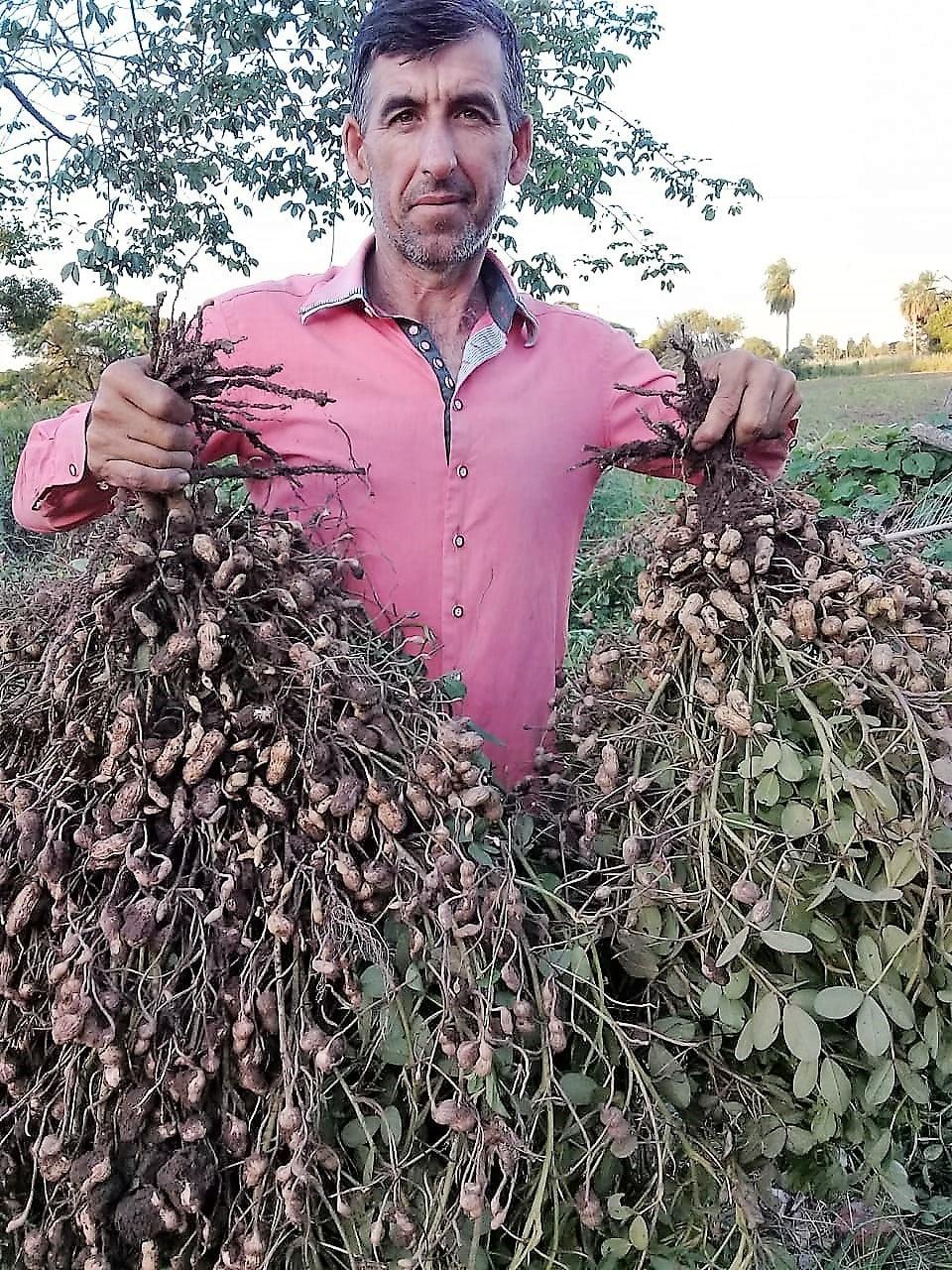 Raúl Cococcioni, campesino formoseño